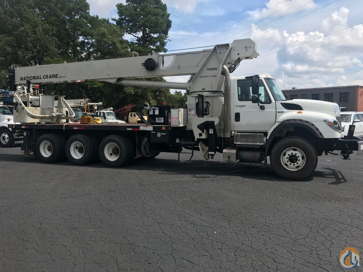 Sold 2012 NATIONAL 14127H MOUNTED ON AN INTERNATIONAL 7600 Crane for  in Monroe North Carolina on CraneNetwork.com