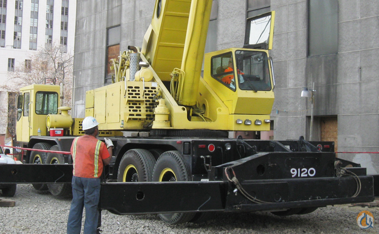 1991 Grove TM 9120 Crane for Sale on CraneNetwork.com