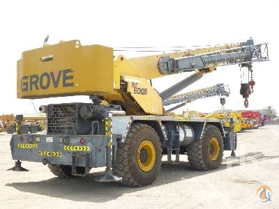2007 GROVE RT600E Crane for Sale on CraneNetworkcom
