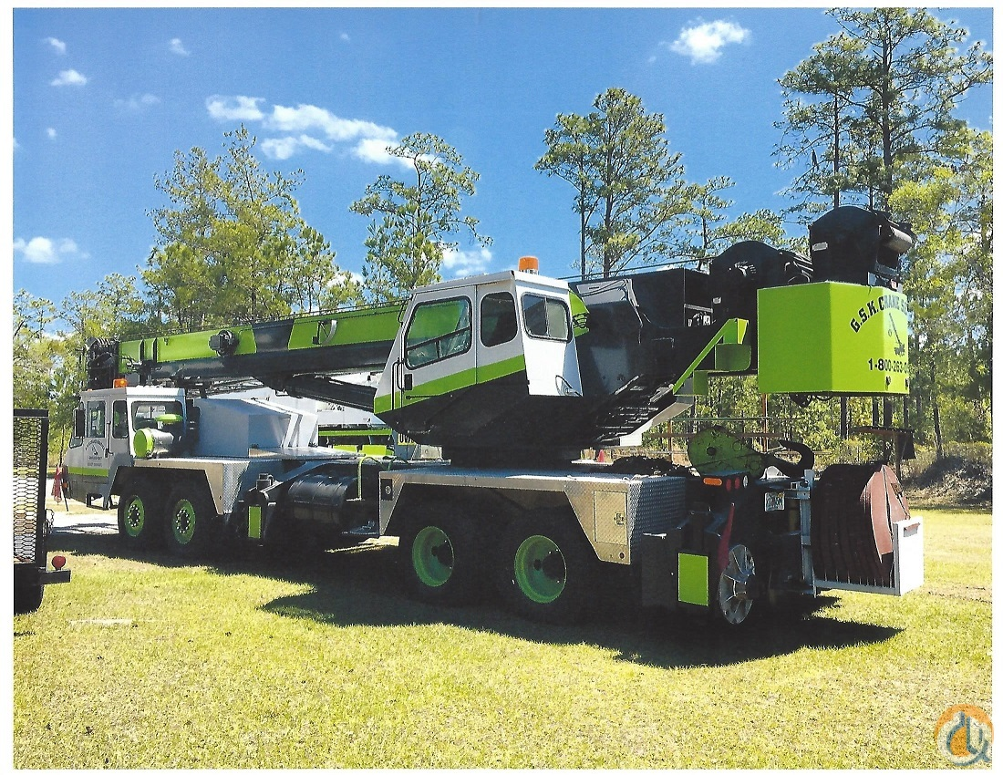 1995 P  H CNT650 Hydraulic Truck Crane Crane for Sale in Brooksville Florida on CraneNetworkcom
