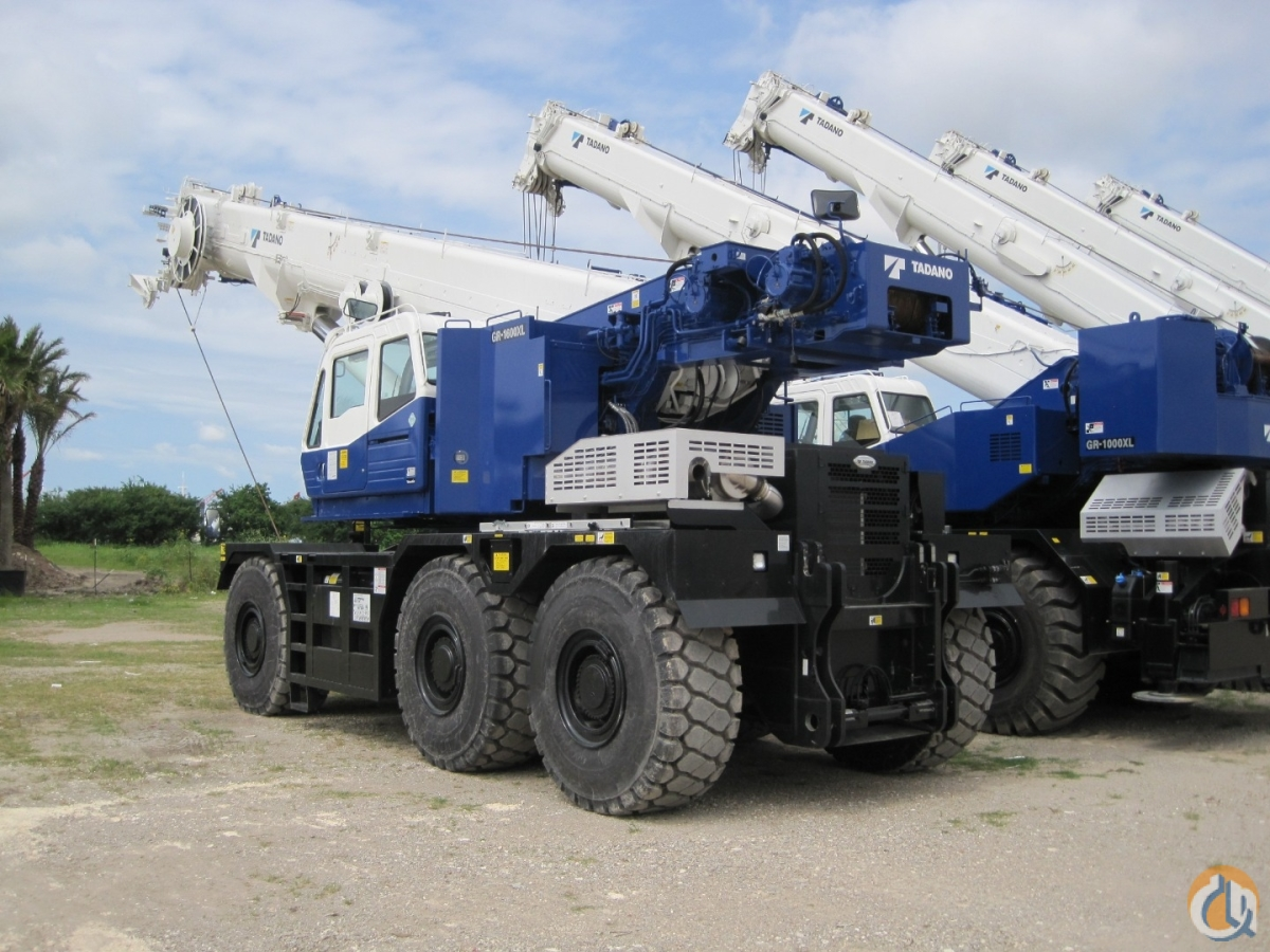 2018 Tadano GR-1600XL-3  For Rent RPO Crane for Sale or Rent in Houston Texas on CraneNetwork.com