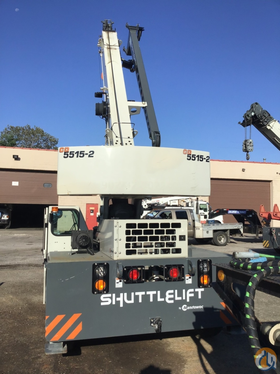 2013 SHUTTLELIFT CD5515-2 Crane for Sale or Rent in Cleveland Ohio on CraneNetwork.com