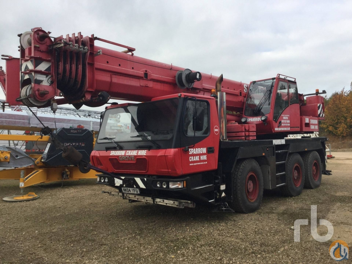 Sold 2004 GROVE GMK3055 Crane for  in Zevenbergen North Brabant on CraneNetworkcom