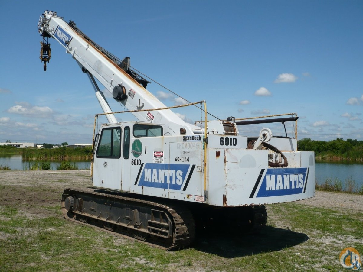 2004 Mantis 6010LP Crane for Sale in Bartow Florida on CraneNetwork.com