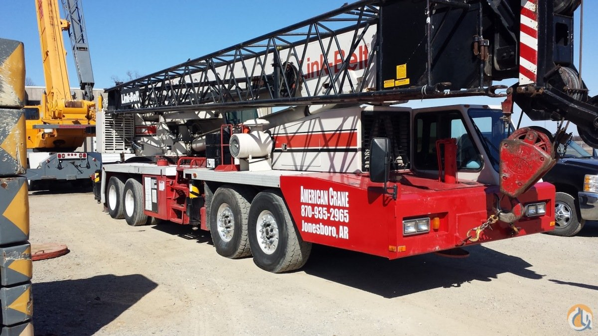 1996 Link-Belt HTC-8665 Crane for Sale in Salado Texas on CraneNetworkcom