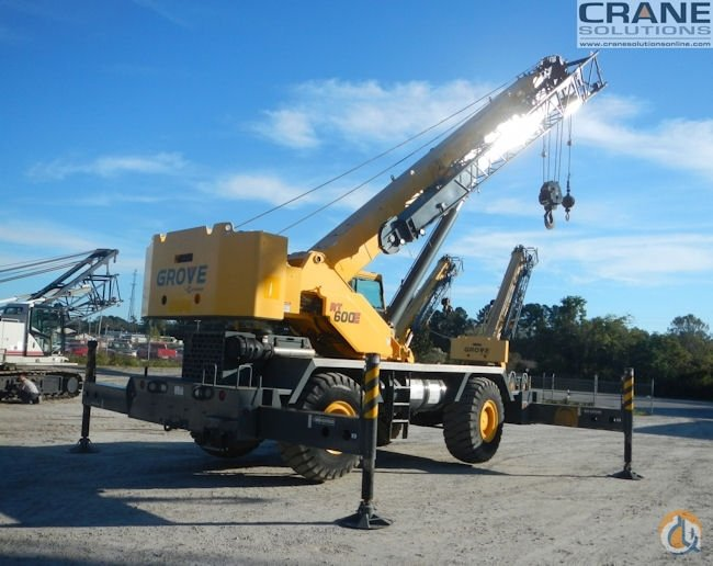 2011 GROVE RT650E Crane for Sale or Rent in Savannah Georgia on CraneNetworkcom