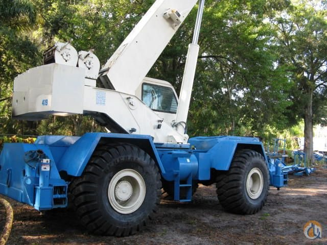 2003 Terex RT555 Rough Terrain Crane Crane for Sale in Hazel Crest Illinois on CraneNetwork.com