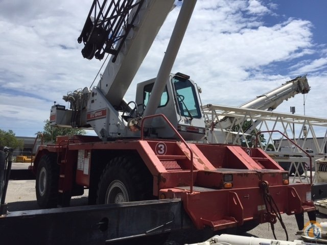 2001 Link-Belt RTC 8040 Crane for Sale or Rent in Fort Pierce Florida on CraneNetwork.com