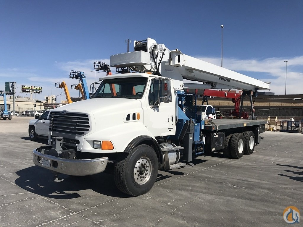 2007 Manitex 35124 C- 2009 Sterling LT9513 Boom Truck Crane for Sale in Las Vegas Nevada on CraneNetwork.com