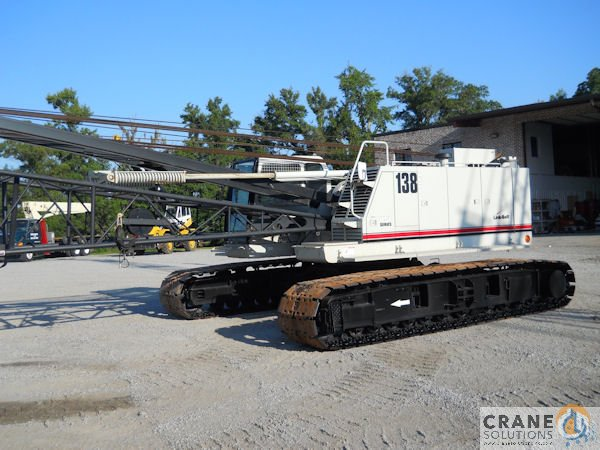 2010 Link Belt 138 HSL Crane for Sale in Savannah Georgia on CraneNetwork.com
