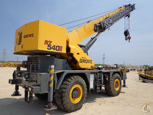 2007 Grove RT540E Rough Terrain Crane For Sale Crane for Sale in Hazel Crest Illinois on CraneNetwork.com
