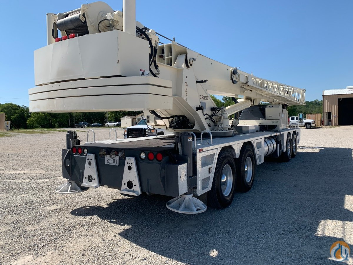 2013 Terex T780 Hydraulic Truck Crane Crane for Sale in Bridgeport Texas on CraneNetwork.com