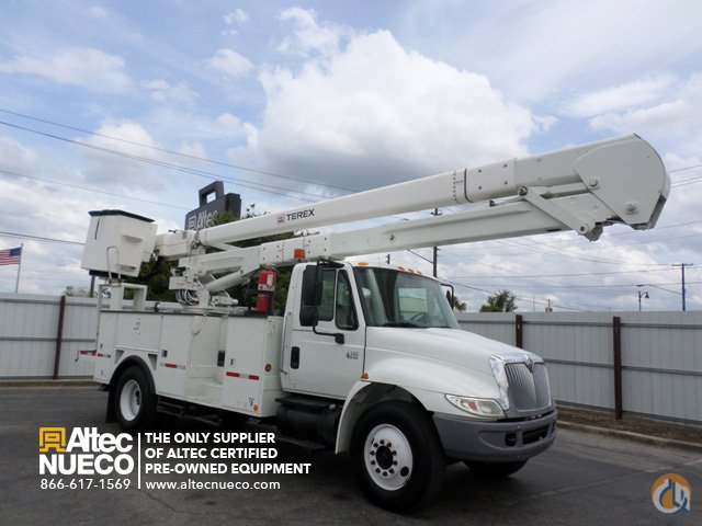 2007 Terex Hi-Ranger5TC-55 Crane for Sale in Calera Alabama on CraneNetworkcom
