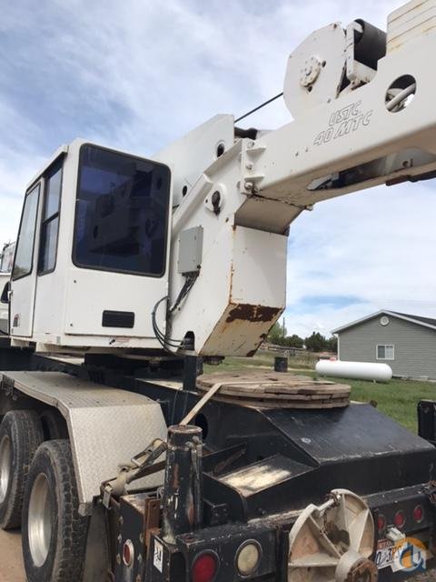 1999 Sterling 40MTC Boom Truck Crane Crane for Sale in Vernal Utah on CraneNetworkcom