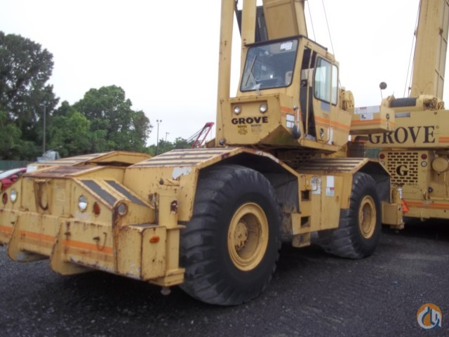 Sold 1992 Grove RT745 Crane for  in Baton Rouge Louisiana on CraneNetwork.com