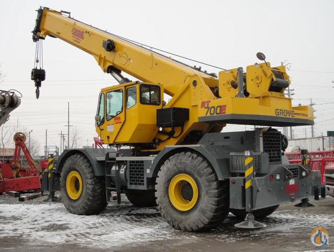 2007 Grove RT760E For Sale Crane for Sale in Knoxville Tennessee on CraneNetwork.com