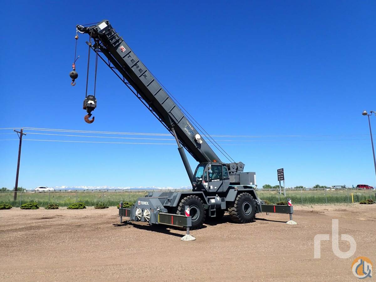 2012 TEREX RT670 4x4x4 Rough Terrain Crane Crane for Sale in Denver Colorado on CraneNetwork.com