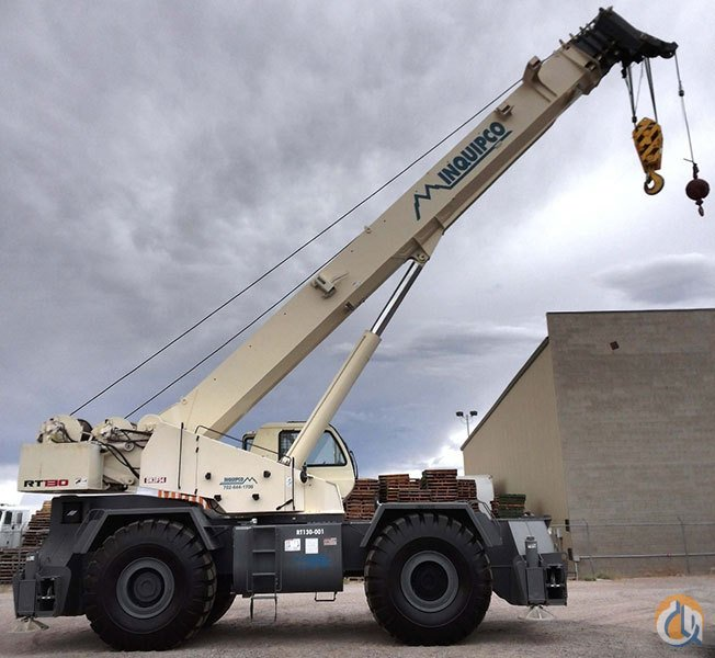 2011 Terex RT130 Rough Terrain Crane Crane for Sale or Rent in Las Vegas Nevada on CraneNetwork.com