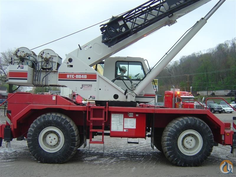 Link Belt RTC8040 Crane for Sale in Knoxville Tennessee on CraneNetwork.com
