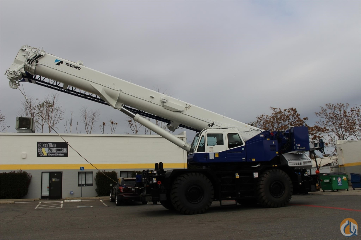 2016 TADANO GR1000XL Crane for Sale or Rent in Santa Ana California on CraneNetworkcom