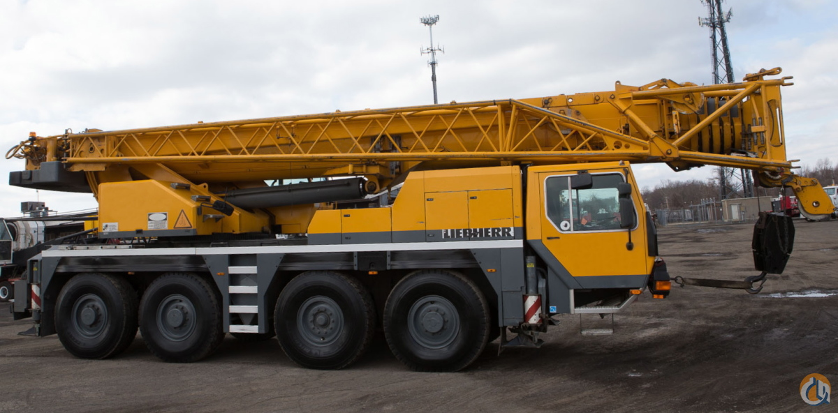 2000 LIEBHERR LTM-1080 ALL TERRAIN CRANE Crane for Sale on CraneNetworkcom