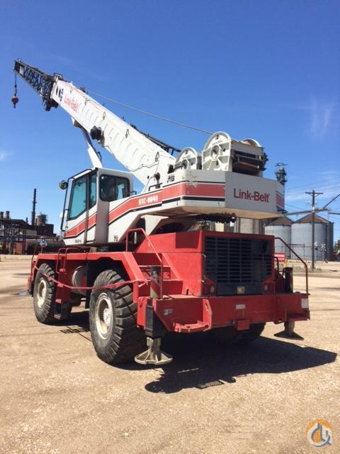 1998 LINK-BELT RTC-8040 SII Crane for Sale in Tremont Illinois on CraneNetwork.com
