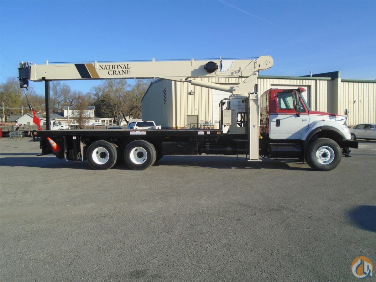 2007 National-International 8100D 23 Ton Boom Truck Crane CranesList ID 497 Crane for Sale on CraneNetwork.com