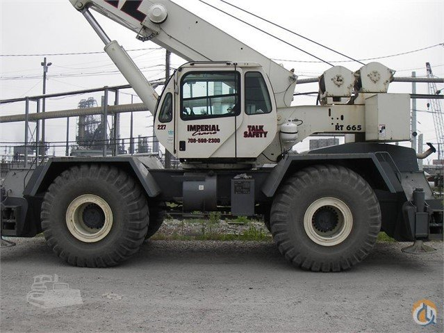 2007 Terex RT665 Crane for Sale or Rent in Griffith Indiana on CraneNetworkcom
