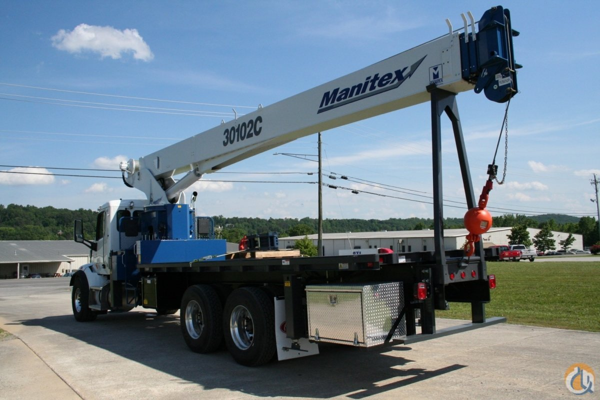 2019 Manitex 30102C Crane for Sale in Cleveland Tennessee on CraneNetwork.com