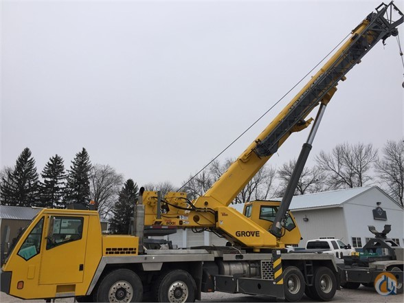 2006 GROVE TMS800E Crane for Sale in Bloomington Minnesota on CraneNetwork.com