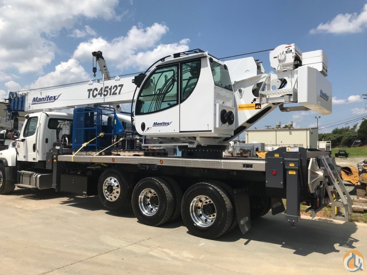 2018 Manitec TC45127 Crane for Sale in Charlotte North Carolina on CraneNetwork.com