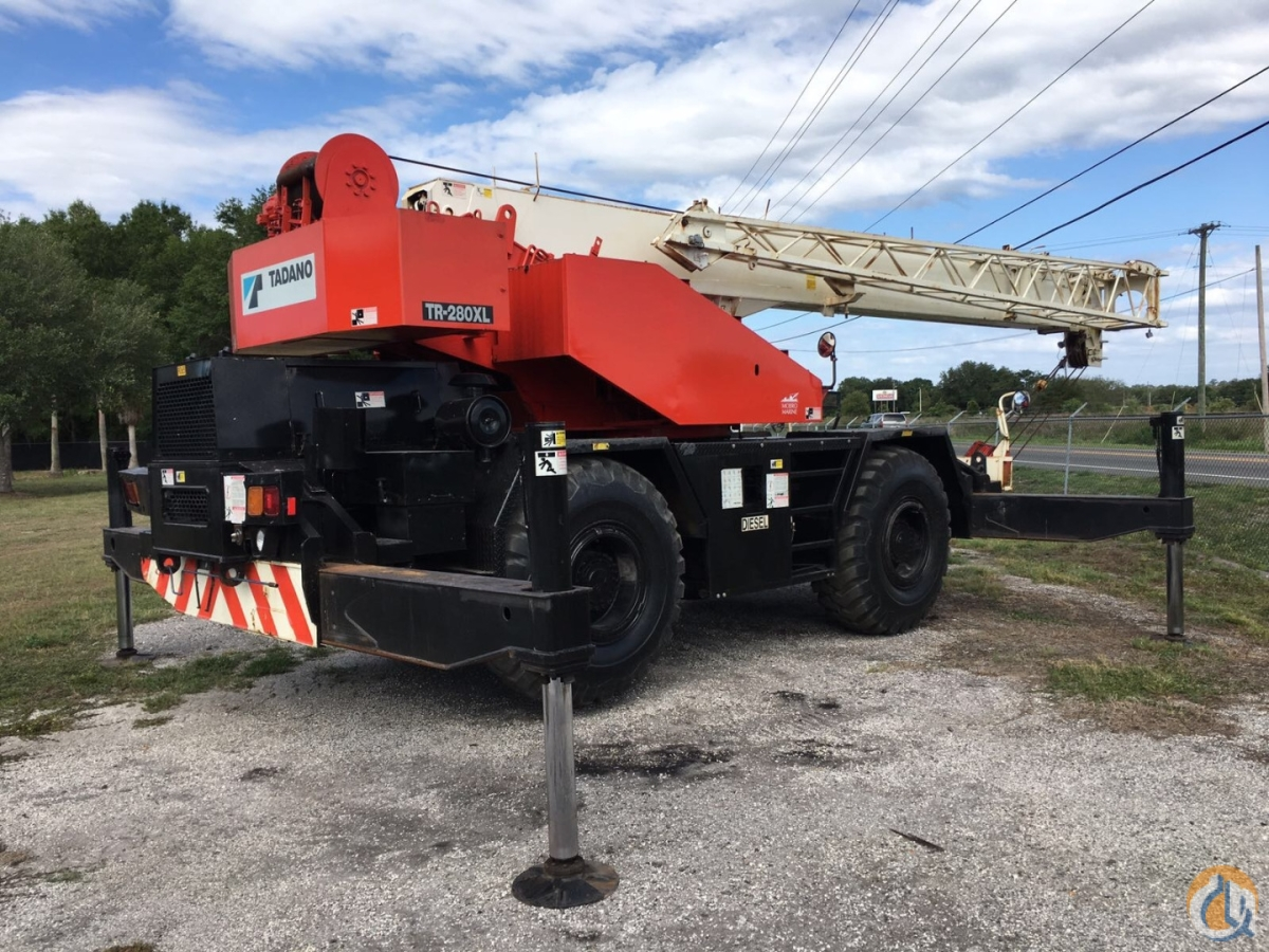 1995 TADANO TR200E Crane for Sale in Plant City Florida on CraneNetwork.com
