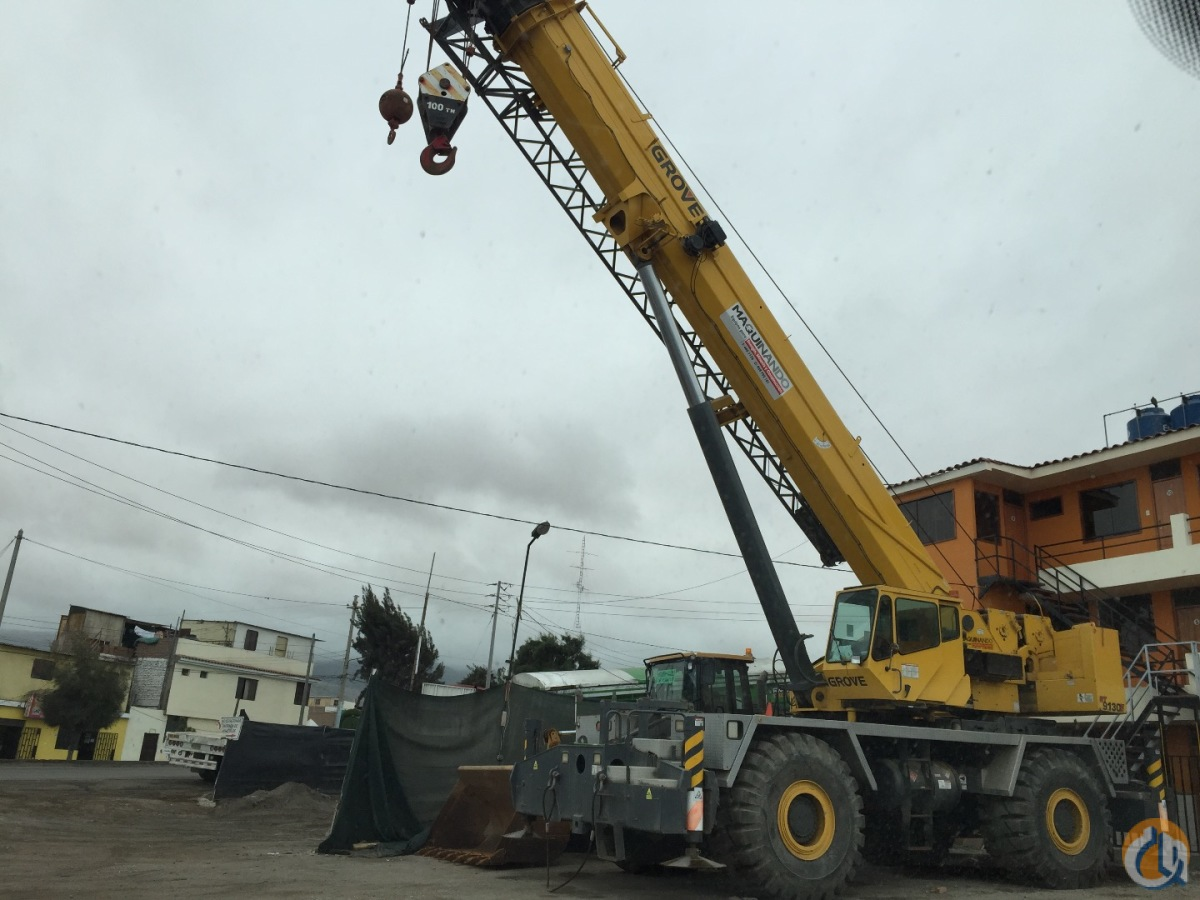 2003 GROVE RT9130E Crane for Sale or Rent in Arequipa Arequipa on CraneNetwork.com