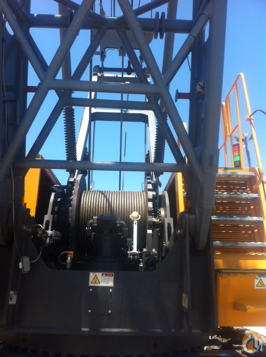 2012 SANY SCC8100 Crane for Sale in Grand Isle Louisiana on CraneNetwork.com