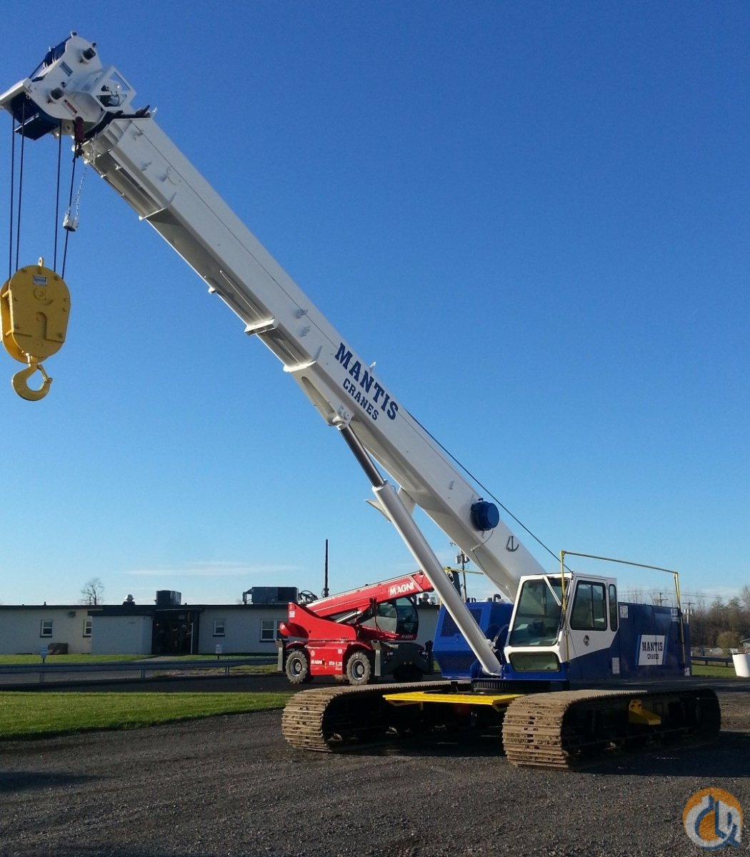 Mantis 6010 Crawler Telescopic Boom Cranes Crane for Sale Mantis 6010LP in Syracuse  New York  United States 213458 CraneNetwork