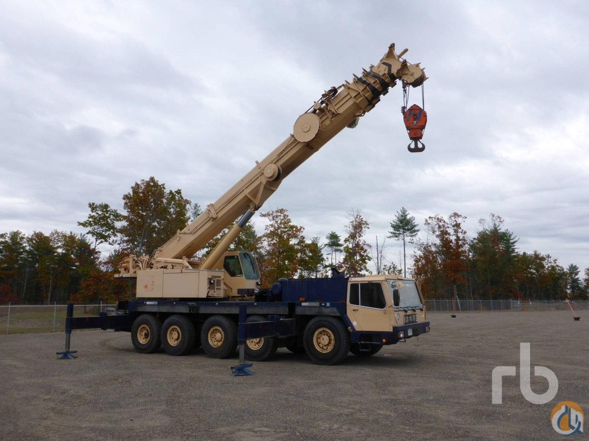 Sold 1994 LIEBHERR LTM1120N-1 Crane for  in Manchester New Hampshire on CraneNetworkcom