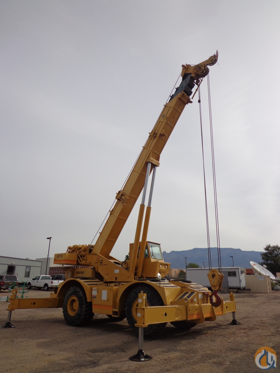 1994 GROVE RT745 ROUGH TERRAIN FOR SALE Crane for Sale in Albuquerque New Mexico on CraneNetworkcom