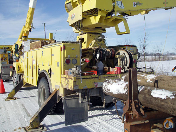 Sold Pitman M50H-4T Digger Derrick Utility Cranes Crane for   in  Wisconsin  United States 139641 CraneNetwork