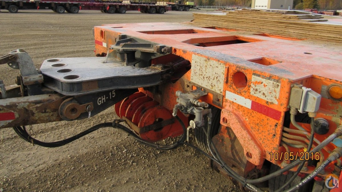 GOLDHOFER PLATFORM TRAILER 12 LINE Crane for Sale on CraneNetworkcom