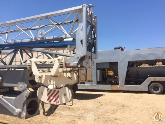 2007 Terex-Comedil CBR32 Self Erecting Tower Crane Crane for Sale in Oceanside California on CraneNetwork.com