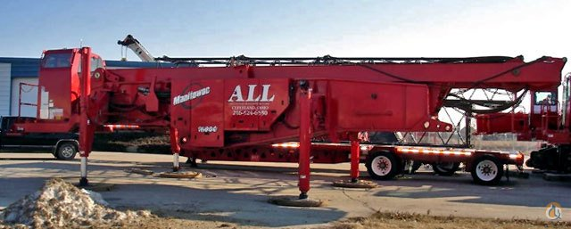 Manitowoc 16000 For Sale Crane for Sale in Kaukauna Wisconsin on CraneNetwork.com