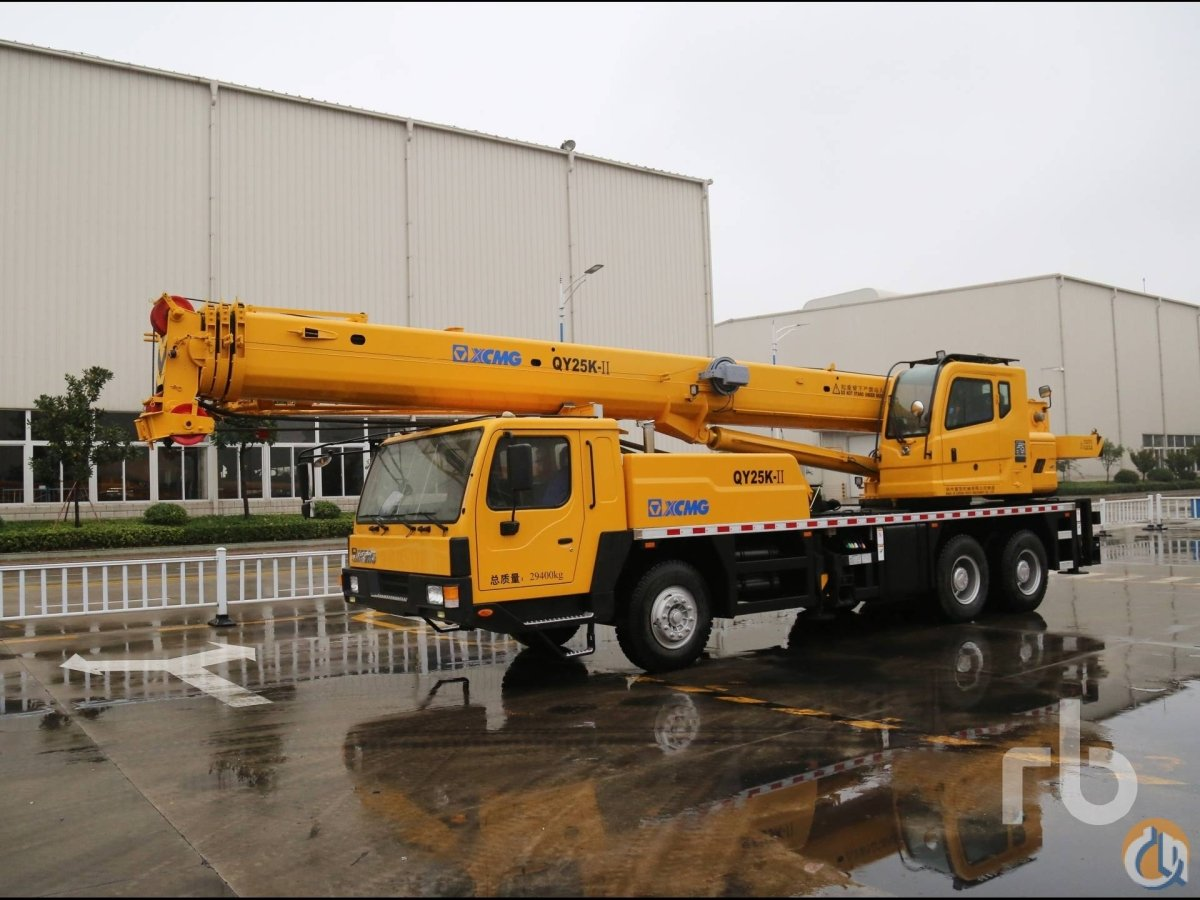 Sold UNUSED 2013 XCMG QY25K-II Hydraulic Truck Crane Crane for  in Dubai Dubai on CraneNetworkcom