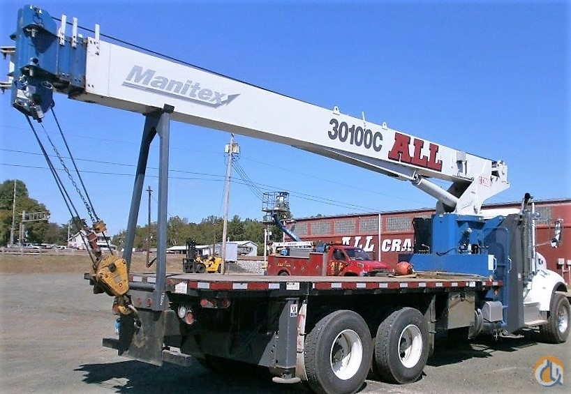2013 MANITEX 30100C Crane for Sale in Columbus Ohio on CraneNetworkcom