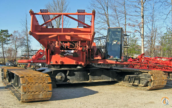 1999 Manitowoc 2250 III Crane for Sale or Rent in Gambrills Maryland on CraneNetworkcom