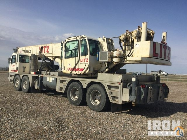 Sold 2008 Terex T560 Hydraulic Truck Crane Crane for  in Saskatoon Saskatchewan on CraneNetwork.com