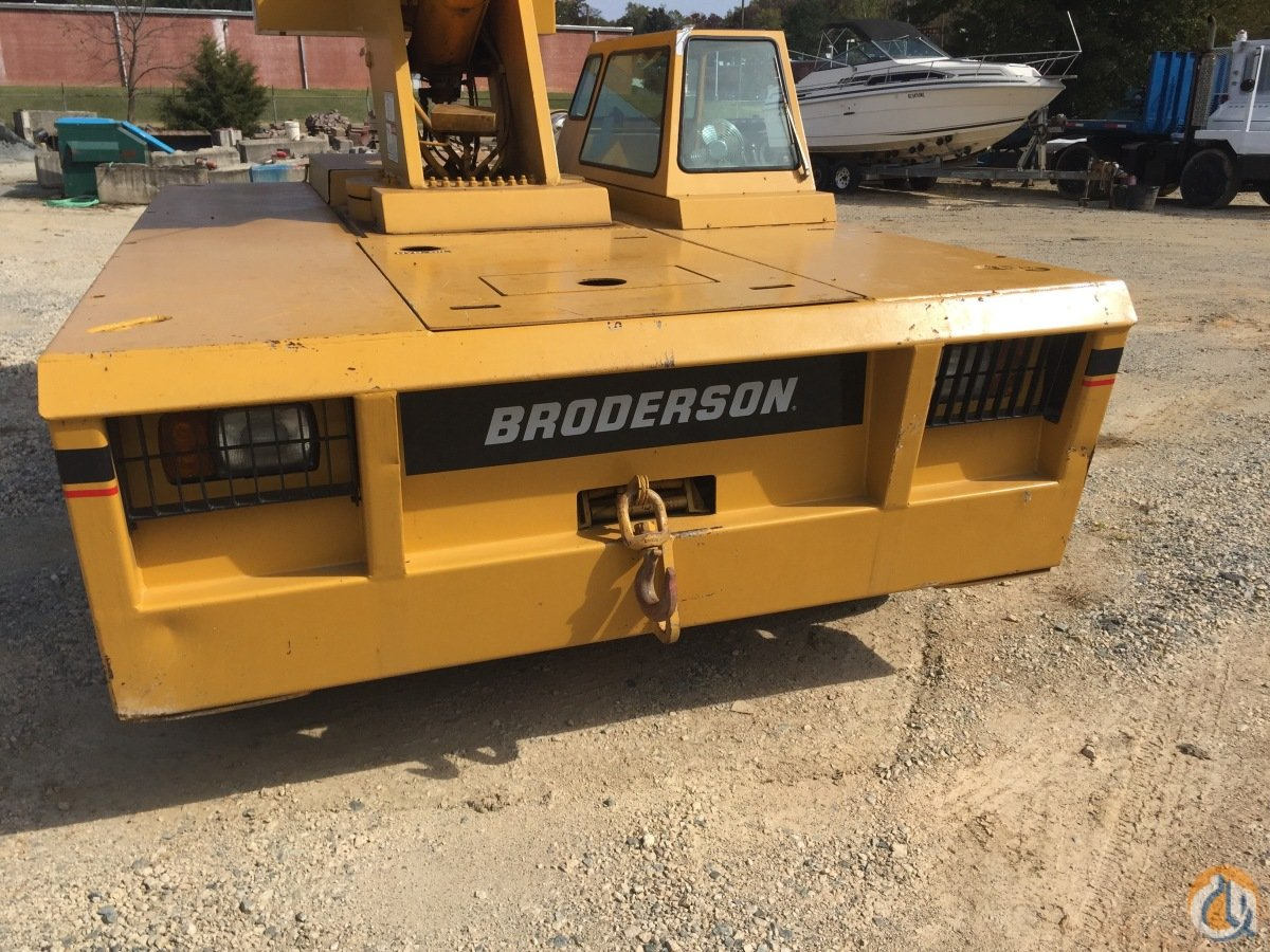 IC Broderson 200 15T Carry Deck Crane Crane for Sale in Concord North Carolina on CraneNetwork.com
