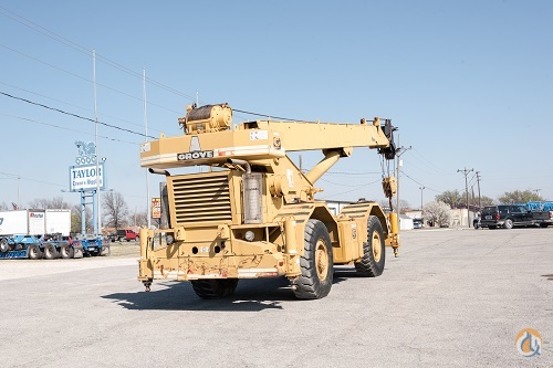 GROVE RT-630 30-TON ROUGH TERRAIN CRANE Crane for Sale on CraneNetworkcom