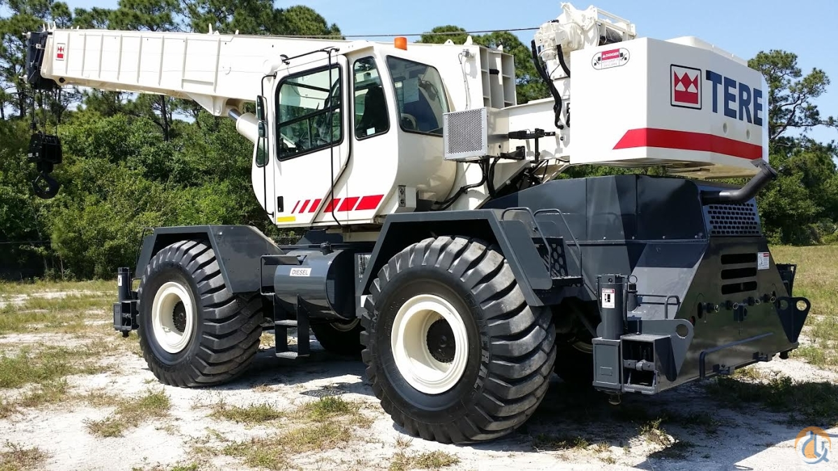 2008 TEREX RT555-1 55T 174500 Excellent in FLORIDA 2-AVAILABLE Crane for Sale in Fort Pierce Florida on CraneNetworkcom