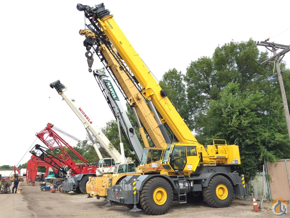 2014 GROVE RT765E-2 Crane for Sale in Bloomington Minnesota on CraneNetwork.com