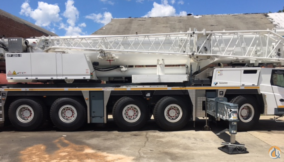 2016 Tadano ATF 220G-5 Crane for Sale in Dover New Jersey on CraneNetwork.com